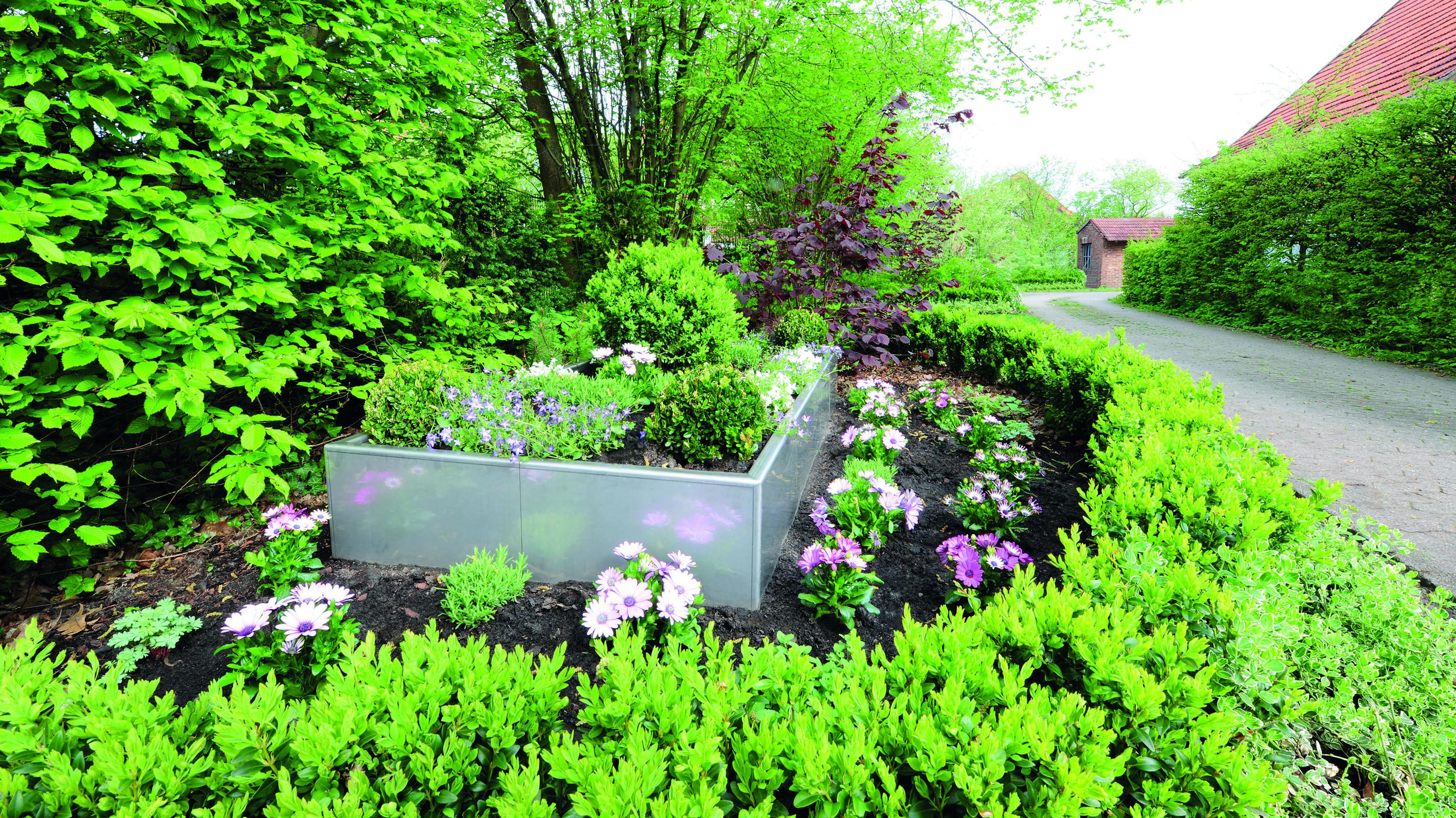 cortenstahl garten terrasse produkte, ob pflanzkästen, hochbeete oder beeteinfassungen – die neuen, Design ideen