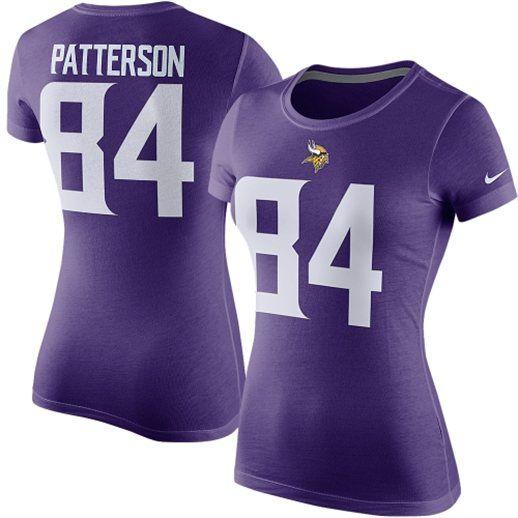 Nike Cordarrelle Patterson Minnesota Vikings Women's T-Shirt #vikings #nfl #minnesota