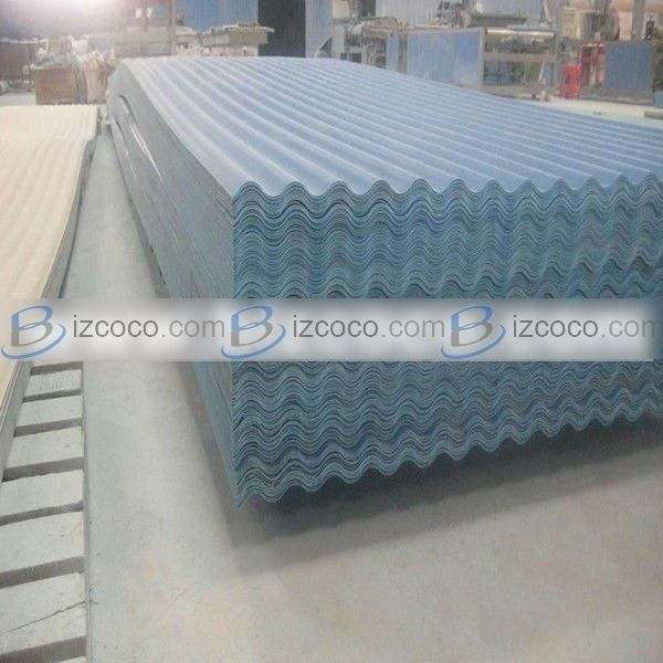 Industry Project Pvc Roof Material Plastic Corrugated Roof