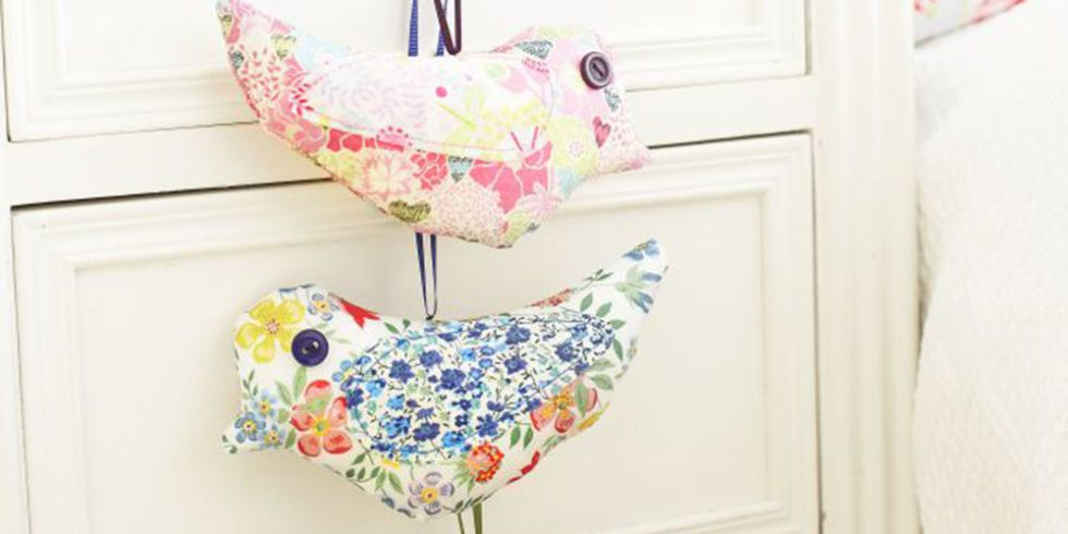 Freshen Up A Room With Scented Sewing | Lavender bags, Lavender and Bird