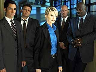 The cast of Cold Case, a show we will sadly never see on DVD
