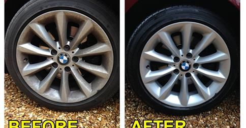 http://pearlwaterlessinternational.com/ | Stay safe on the road and enjoy   Christmas.. Protect and revitalise your wheels with Pearl® Universal and Eco Tyre   Shine.