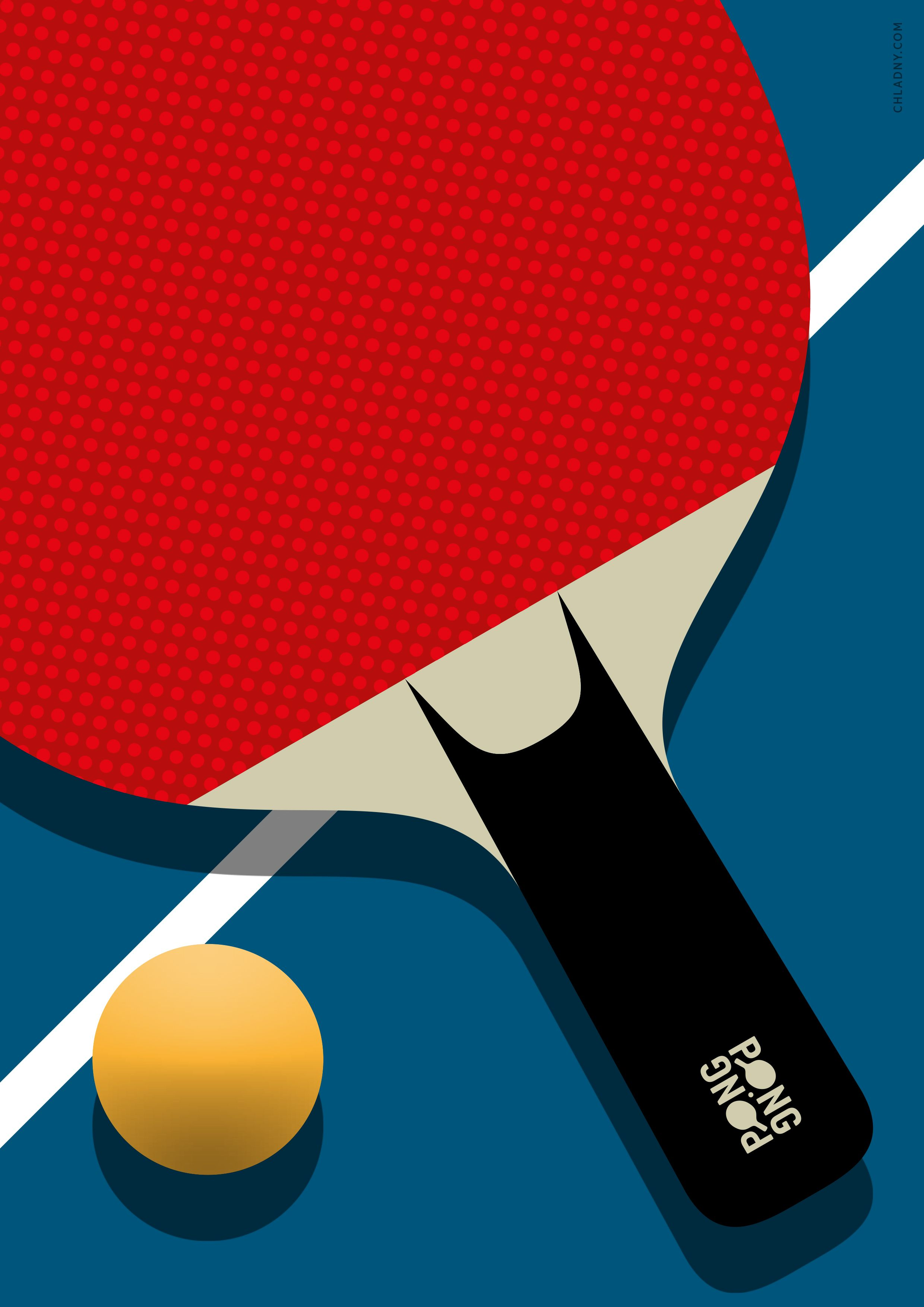 West Seattle Supper Club Presents Go Ping Pong Sport Poster Design Sports Illustrations Design Tennis Posters