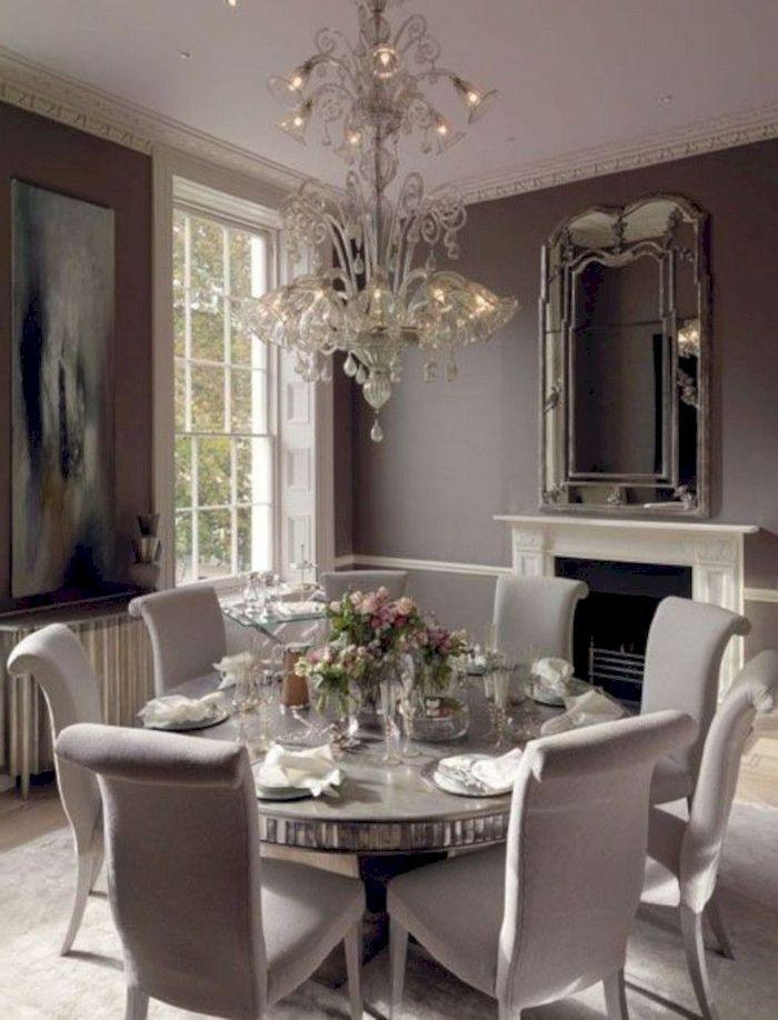 35 Amazing Dining Room Lighting Ideas For Big Family Decorhit Com Elegant Dining Room Luxury Dining Room Beautiful Dining Rooms