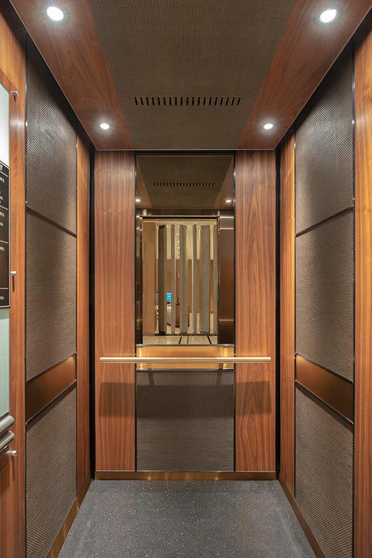 Levele 105 Elevator Interior With Customized Panel Layout Capture