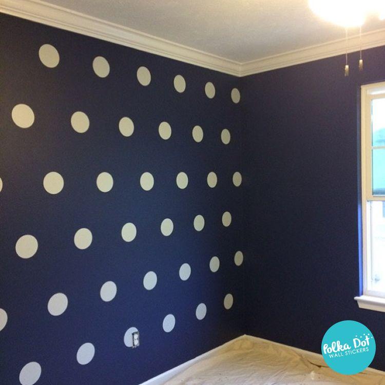 White Polka Dot Wall Decals Polka Dots Polka Dot Wall Decals