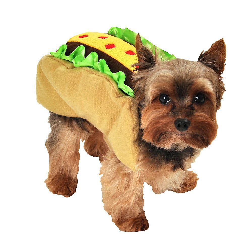 Taco Dog Costume Image 1 Taco Costume Pet Costumes Dog Costumes