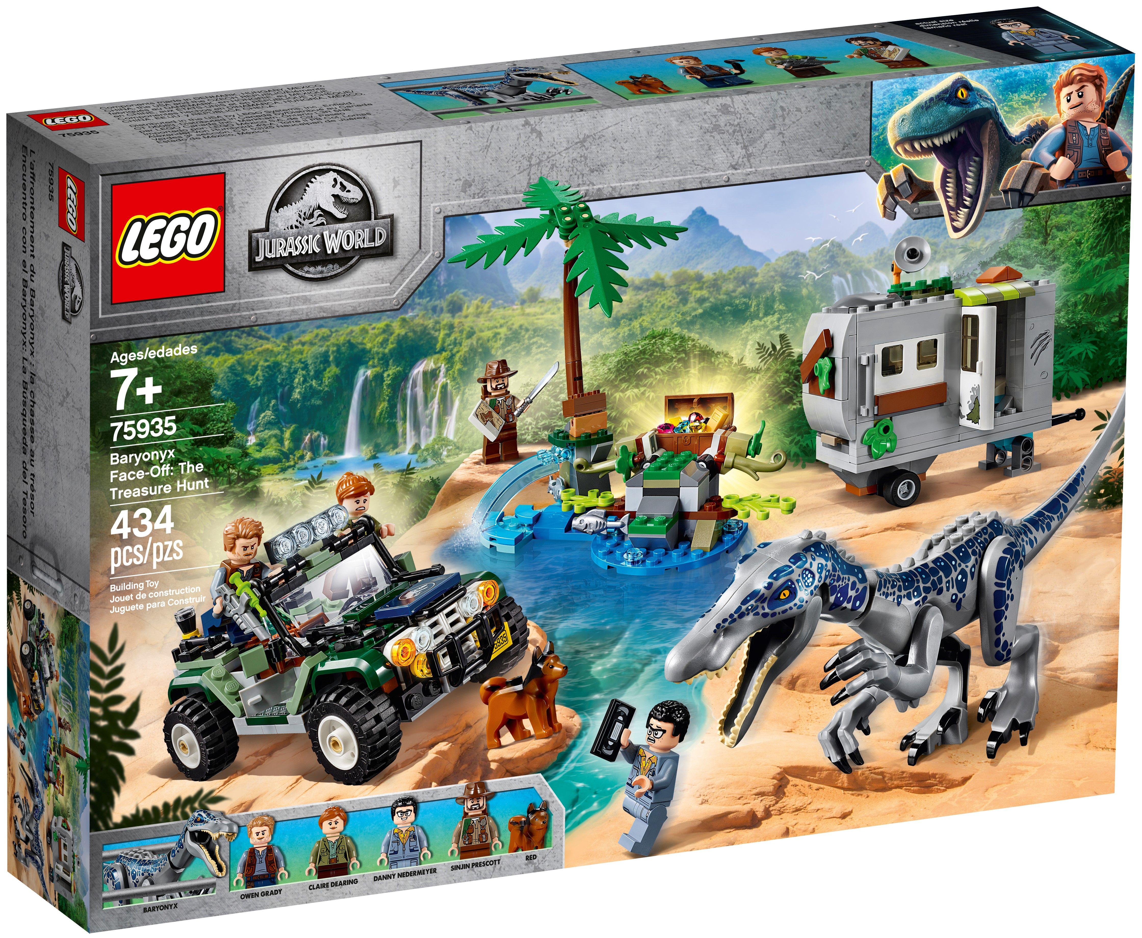 LEGO JURASSIC WORLD Baryonyx Dinosaur Raptor  75935 Figure only