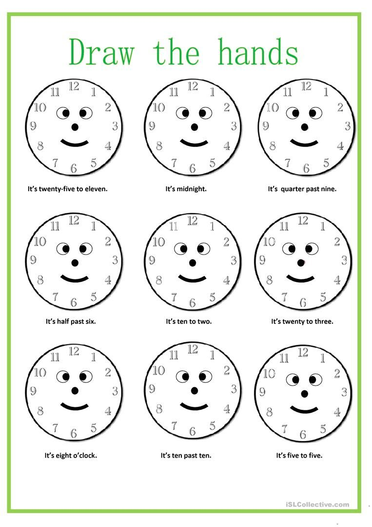 What time is it? worksheet - Free ESL printable worksheets made by ...