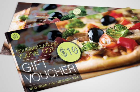 Realistic gift voucher template psd free webgraphic design realistic gift voucher template psd yelopaper Gallery