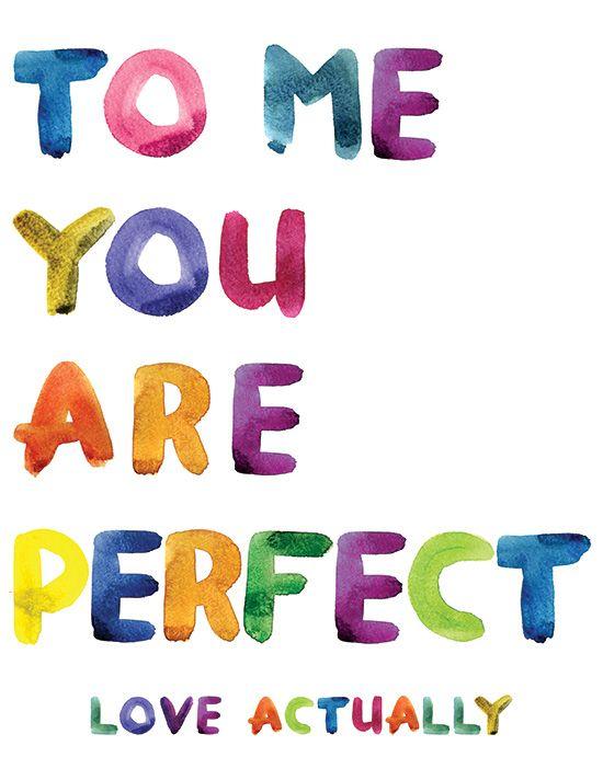 Love Actually   Printable Love Quote Via Poorandpretty Never