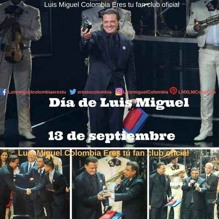 Feliz día de Luis Miguel!!!! #LuisMiguel #DíaDeLuisMiguel #Fans #PremiosLuisMiguel #MomentosLuisMiguel #FanClubOficialLuisMiguelColombia #ErestúColombiaFancluboficial #ClubFansOficialLuisMiguel