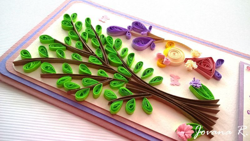 Get Well Card Quilling Card Handmade Card Bon Retablissement