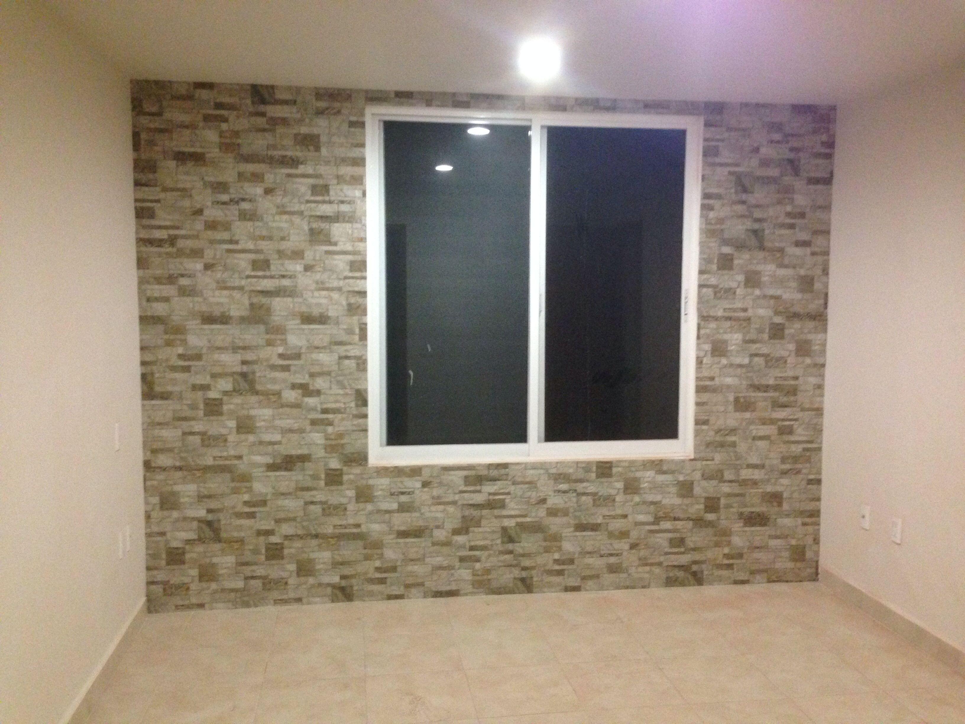 De paredes interiores en piedra ideas para decorar - Revestir paredes interiores ...