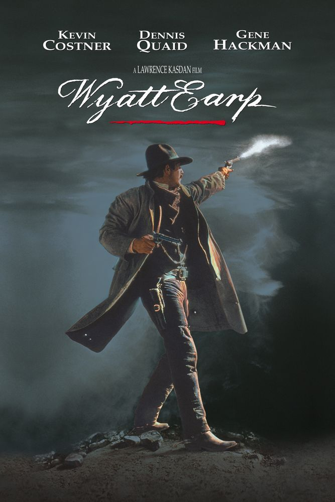 Image result for wyatt earp costner poster
