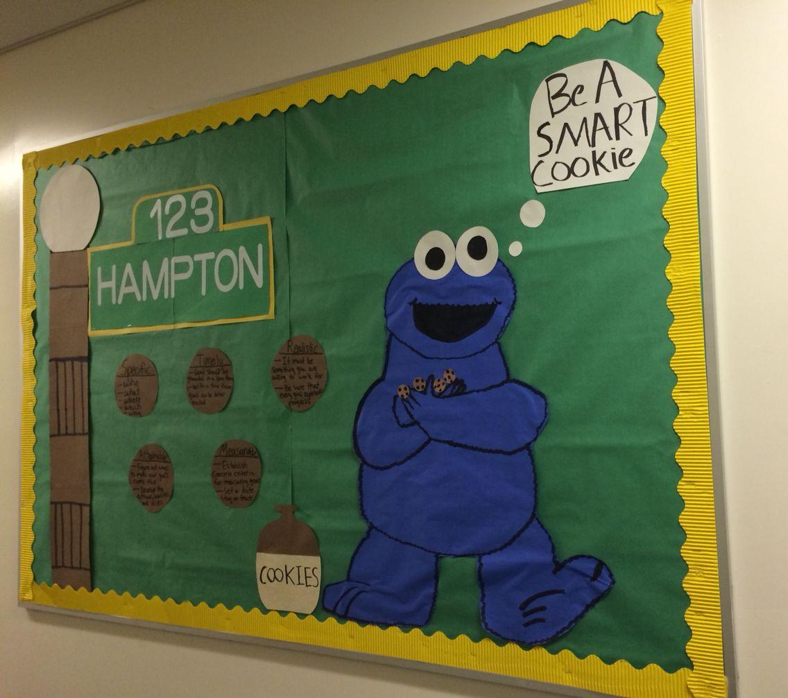 Sesame Street Bulletin Board