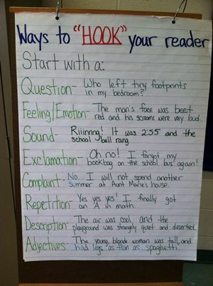 What is a hook in writing an essay