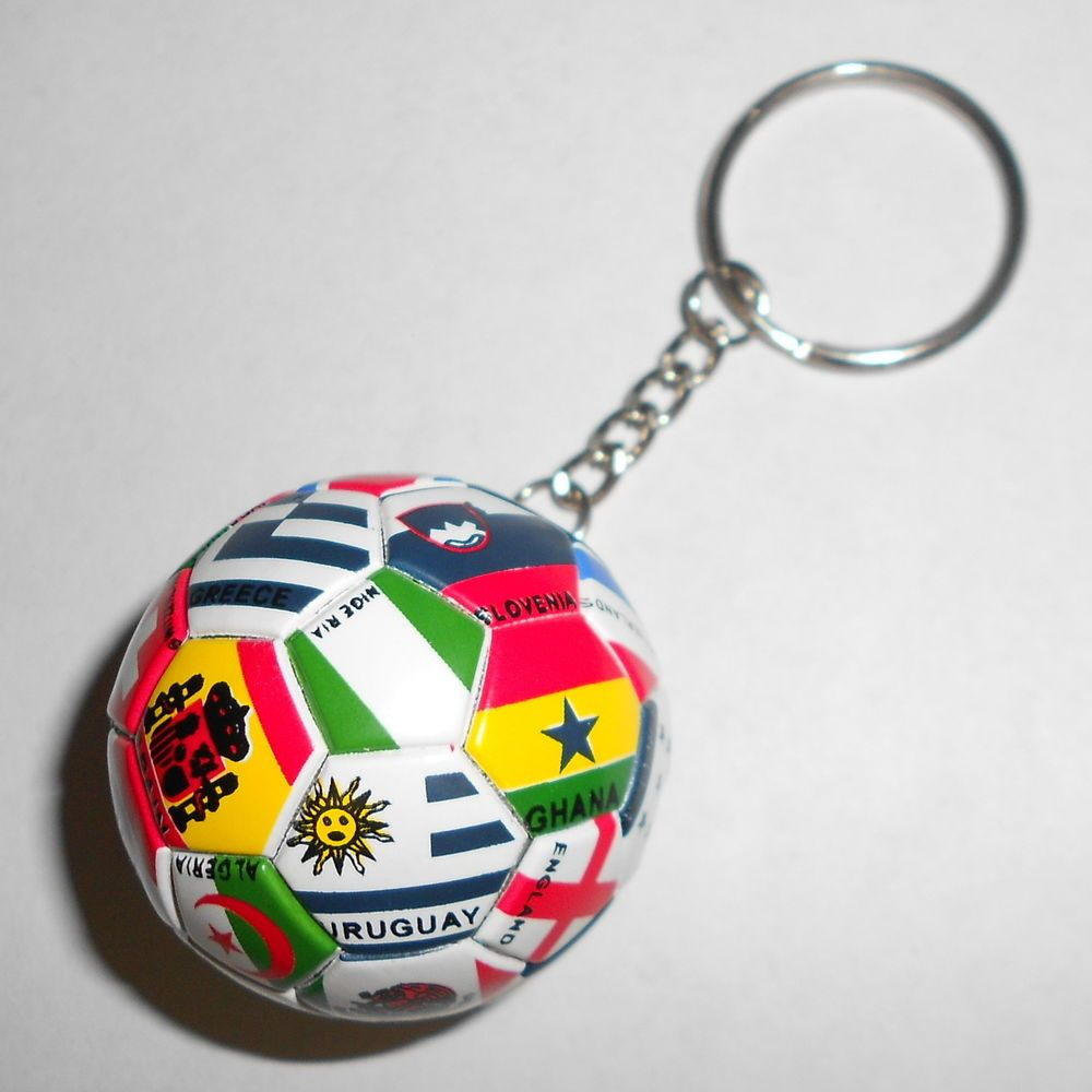 International Countries Pride Soccer Keychain World Cup National Key Chain Keychain Soccer Key