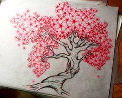 Arboles Blossom Tree Tattoo Cherry Blossom Tree Tattoo Cherry Tree Tattoos