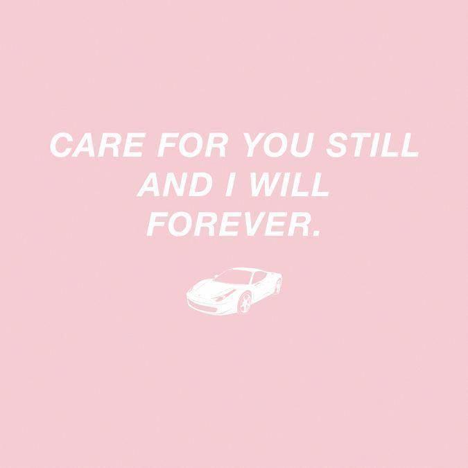 Care For You Still And I Will Forever Frank Ocean White Ferrari