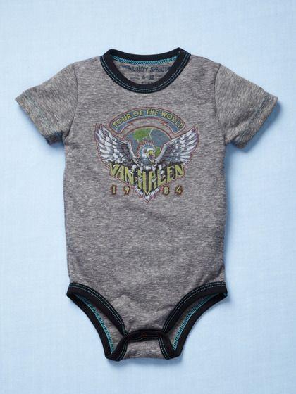 Van Halen Cute Onesie Bodysuit Shirt Outfit