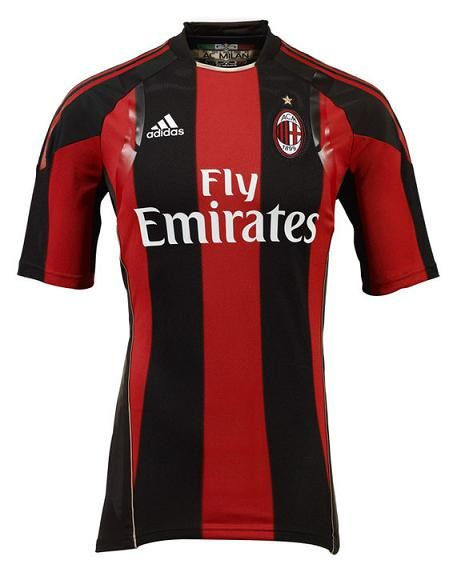 Milan Home Shirt 2010-2011 adidas Camisas 1f2bcf35c87e8