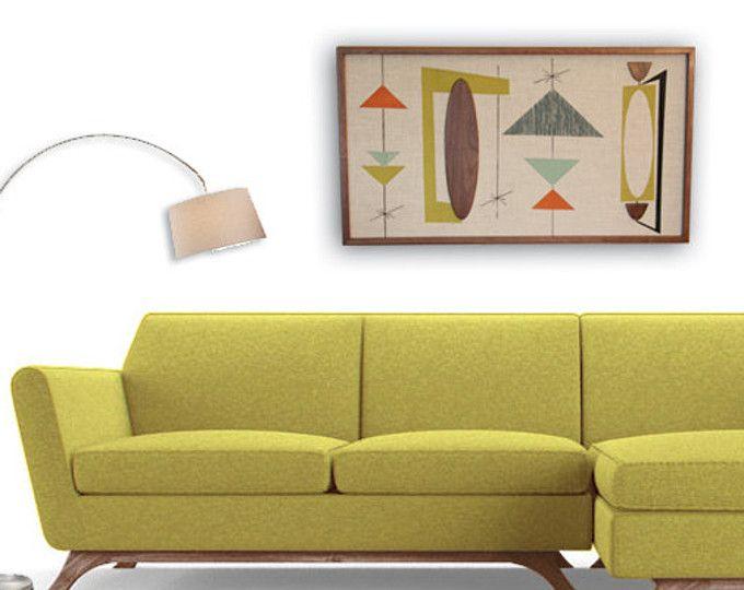 Fancy Mid Century Modern Wall Art Elaboration - All About Wallart ...