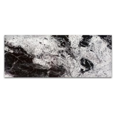 Storm Abstract Wall Art in Black/White - BedBathandBeyond.com