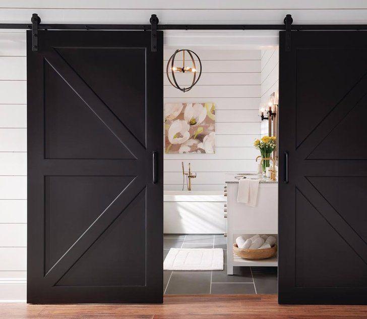 Jeff Lewis Is Now Selling Sliding Barn Doors At The Home Depot Barn Doors Sliding Wood Doors Interior Masonite Interior Doors