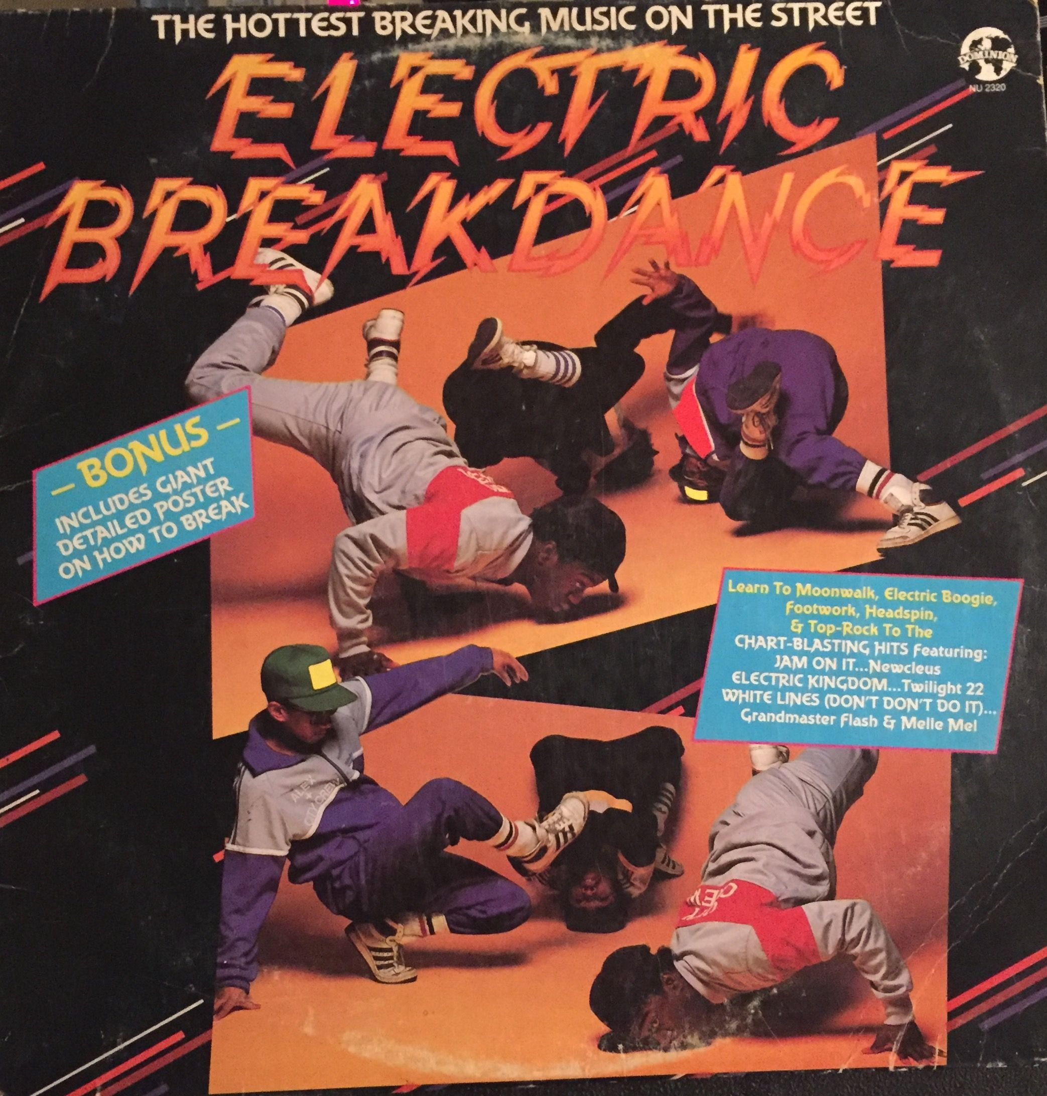 Electric Breakdance' #Ktel records 1984  hip-hop vinyl #rap