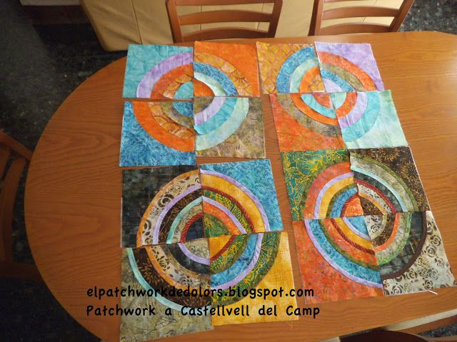 Patchwork a Castellvell del Camp.