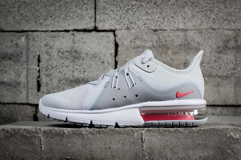 6c9dddbfdc0 Officiel Nike Air Max Sequent 3 Pure Platinum Racer Pink 908993 012 ...