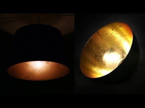 Designer Lampe Gold Schwarz Ikea Hack Diy Youtube Lampe Gold Lampen Licht