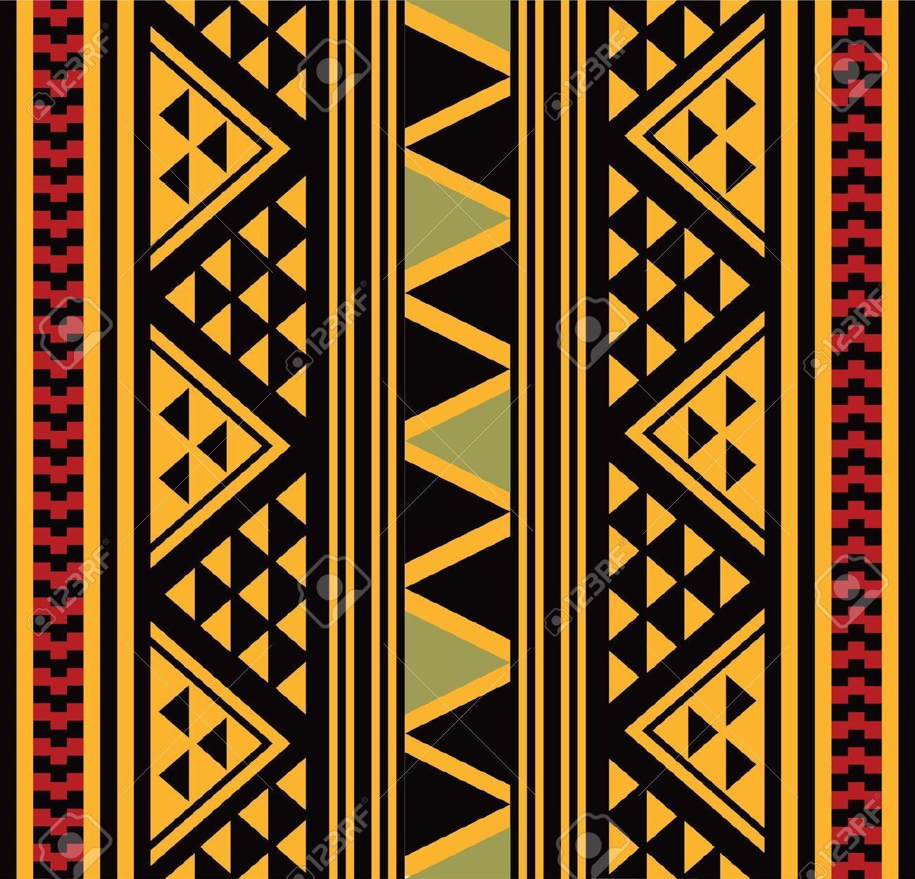 Teste Padrão Africano Royalty Free Cliparts, Vetores, E Ilustrações ...