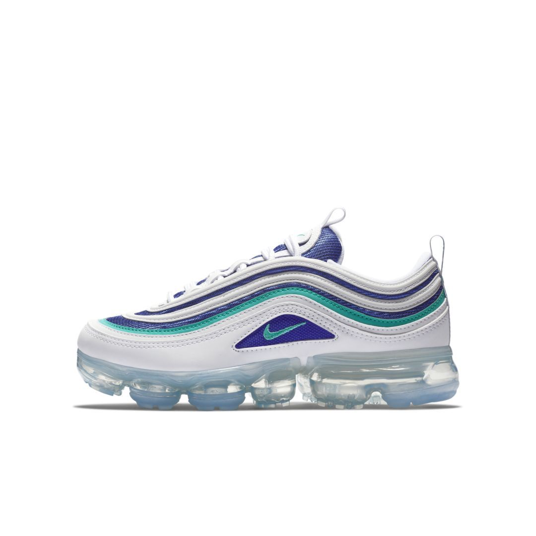 adae9665172ee Nike Air VaporMax 97 Big Kids' Shoe Size 4.5Y (White) | Products in ...