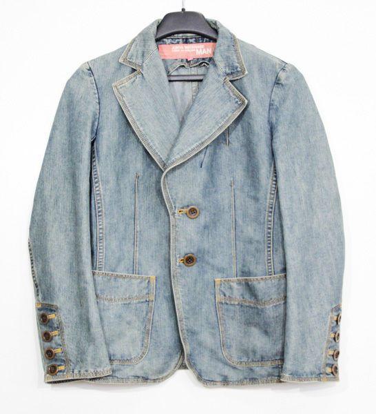 Comme des Garcons JUNYA WATANABE MAN women jeans jacket Size S