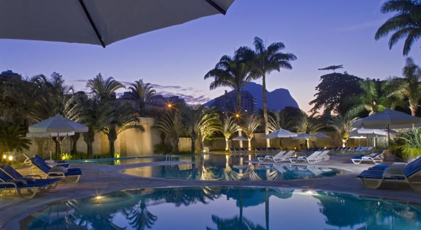 Sheraton Barra Rio De Janeiro Hotel The 5 Star Is Ideally Located Across From Blue Waters Of Da