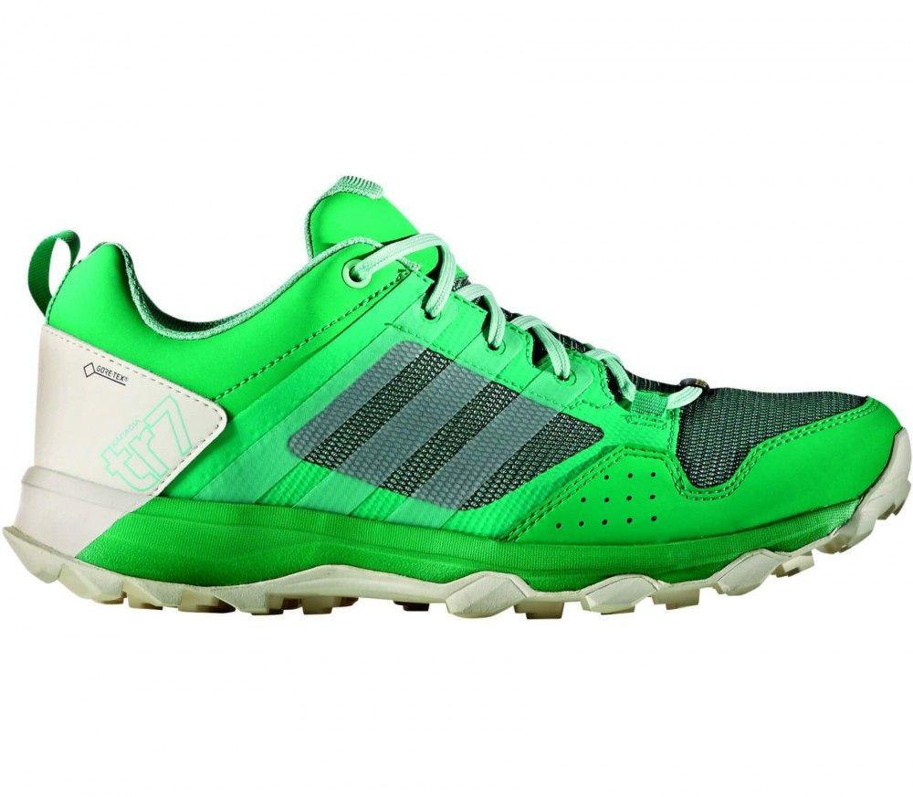dikke Adidas Kanadia 7 TR GTX women's trail running shoes (groen)