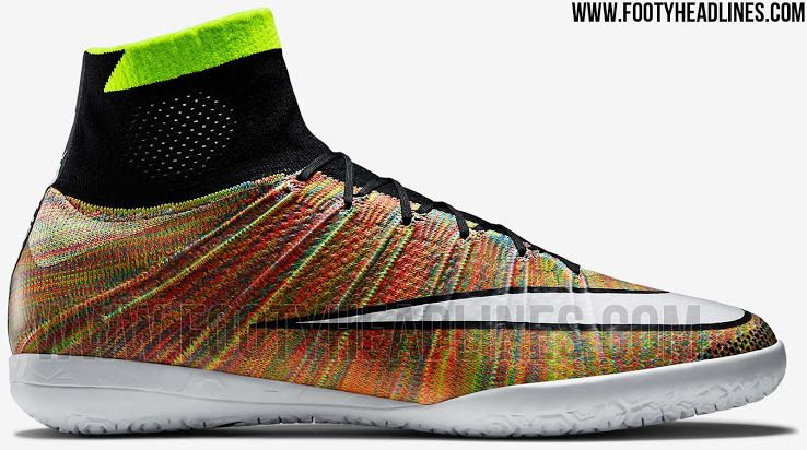 new arrival 6a82f 57643 Nike Mercurial X Multicolor Boots Released - Footy Headlines ...