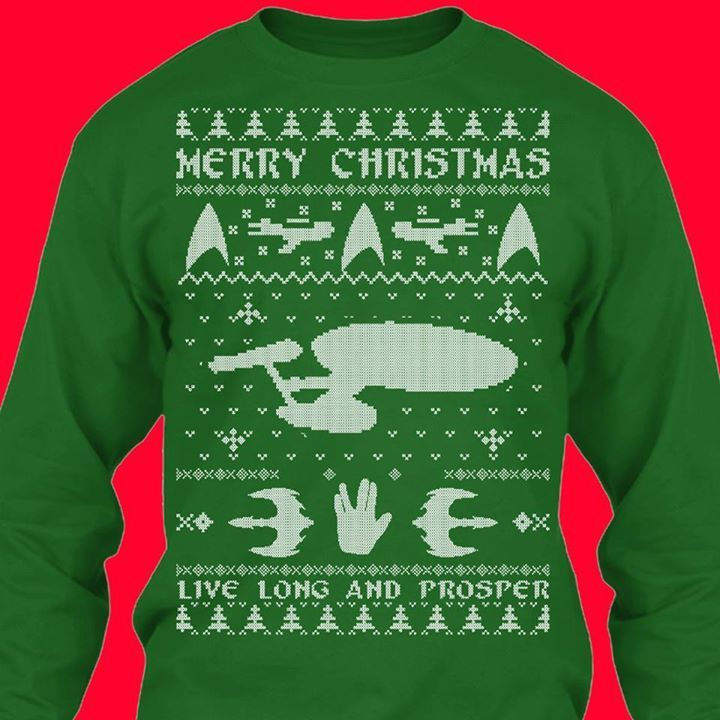 For Your Ugly Christmas Sweater Party Star Trek Pinterest