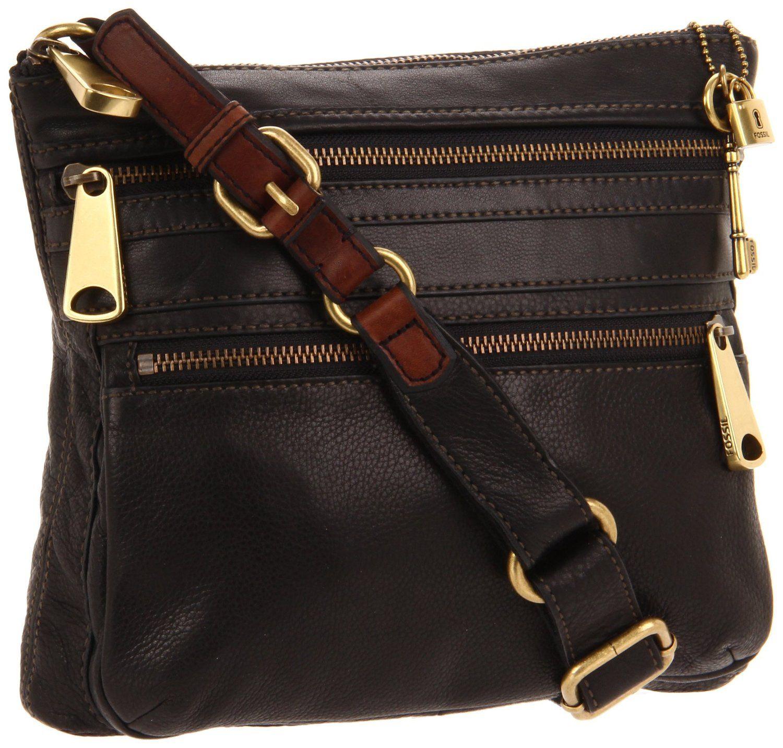 moderate cost san francisco fresh styles Amazon.com: Fossil Explorer Crossbody Handbag - Espresso ...