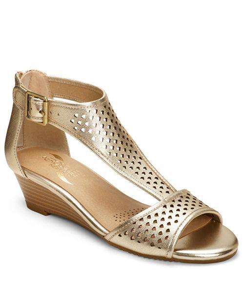 Wedge Sandals, Wedges, Low Wedge