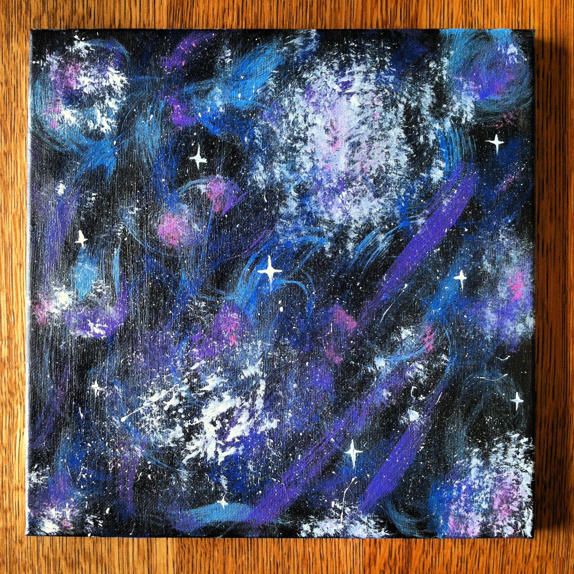 Diy Galaxy Canvas