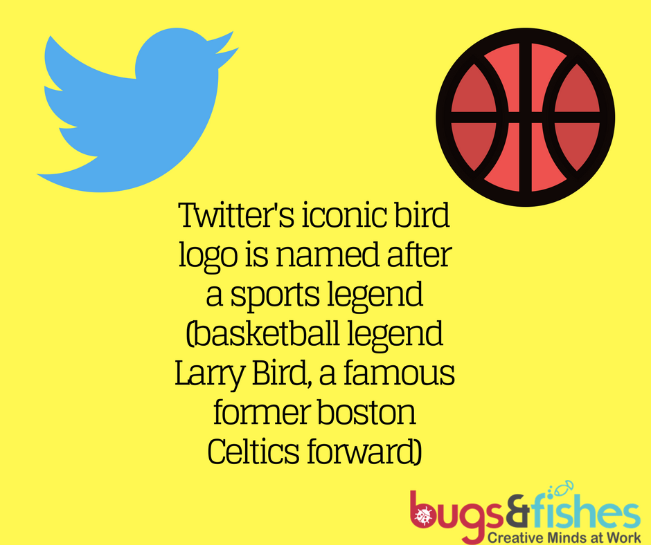 """""""Twitter's iconic bird logo is named after a sports legend"""