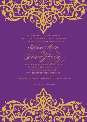 bollywood invite