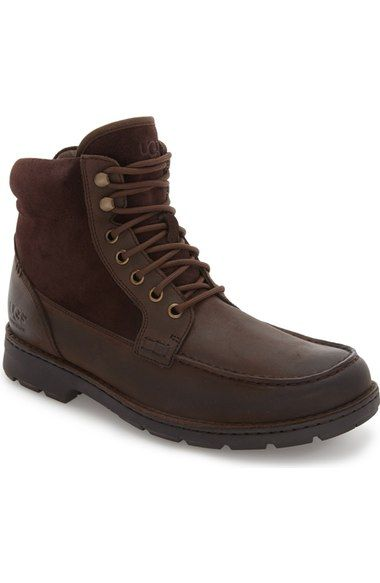 190a5577b61 UGG 'Barrington' Waterproof Moc Toe Boot (Men). #ugg #shoes #boots ...