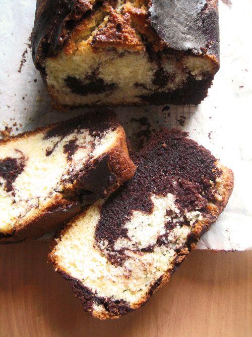 Scientifically Sweet: Chocolate-Vanilla Marble Cake