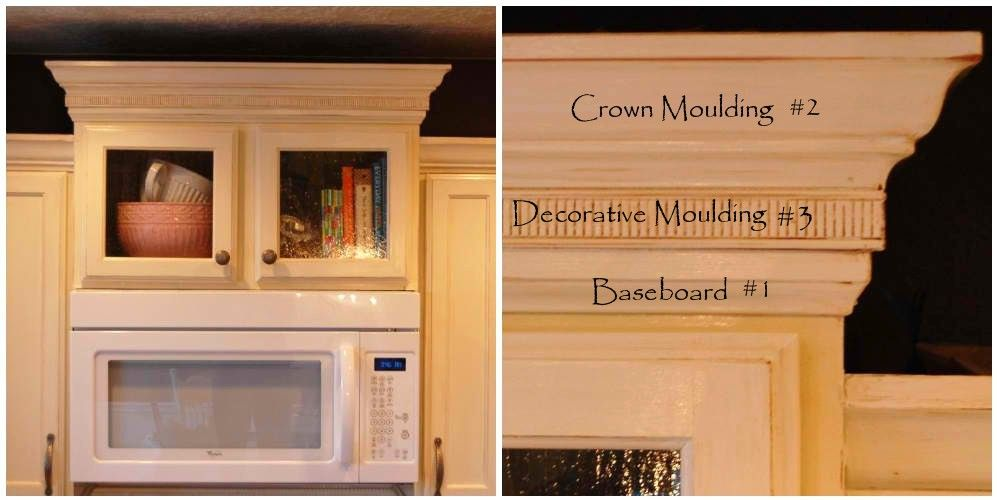I Like The Explanation Mouldings Diy Home Improvement Updated Kitchen