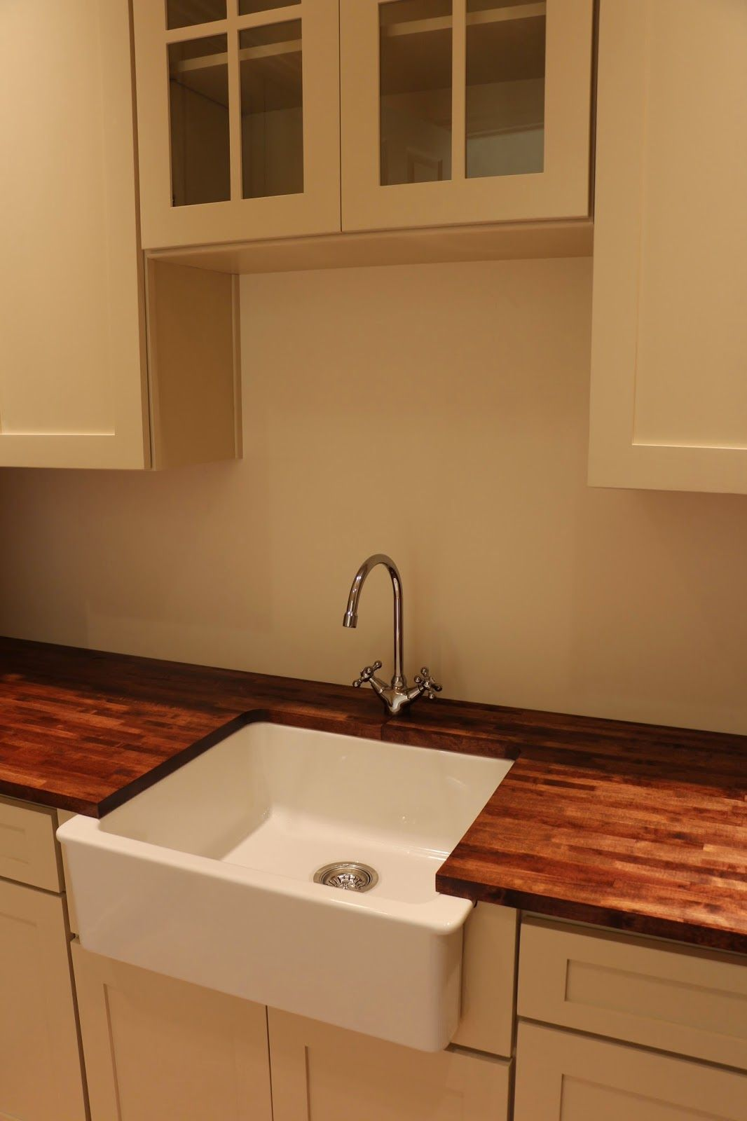 Domsjo sink farmhouse sink wood countertops varde for Ikea kitchen sink domsjo