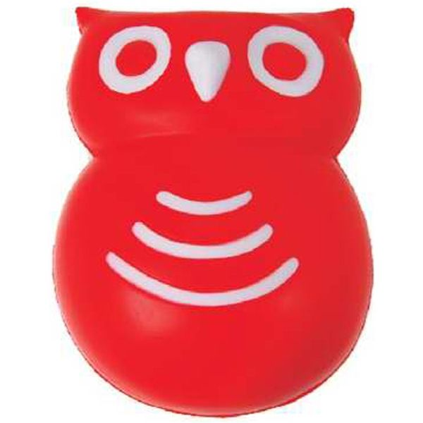Owl Mascot Stress Toy from www.schoolspiritstore.com